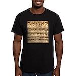 Matzah Men's Fitted T-Shirt (dark)