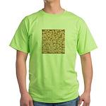 Matzah Green T-Shirt