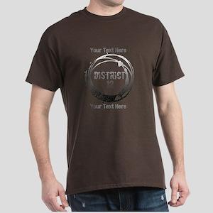 District 12 Your Text Dark T-Shirt