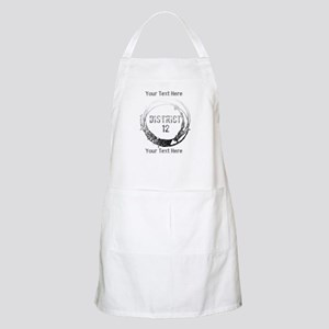 District 12 Your Text Apron