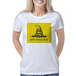 gadsden flag rect 3000x250 Women's Classic T-Shirt