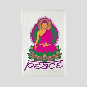Buddha Peace Rectangle Magnet