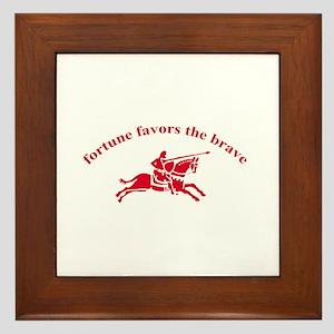 Fortune (framed tile)