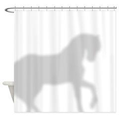 Pony Shower Curtain