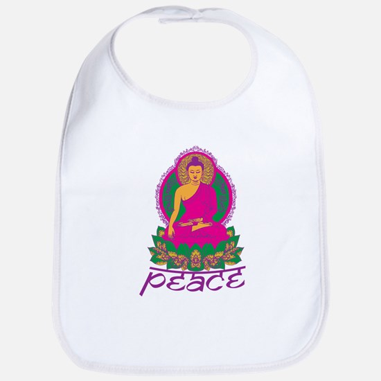 Buddha Peace Bib