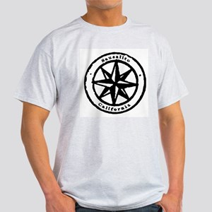 Vintage Compass Rose  Ash Grey T-Shirt