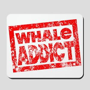 Whale ADDICT Mousepad