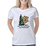 The Pooping Bear Women's Classic T-Shirt