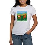 I Go Travelling Women's T-Shirt