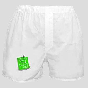 To Do 1 Lymphoma Boxer Shorts