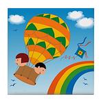 On Balloon Tile Coaster
