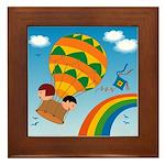 On Balloon Framed Tile