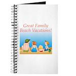 Family On Beach Journal