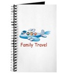 Family On Airplane Journal