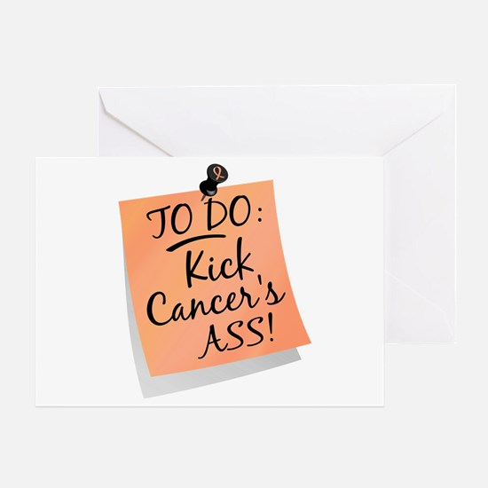 To Do 1 Endometrial Cancer Greeting Card
