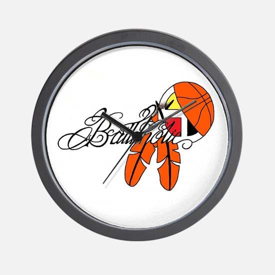 Ballaholic - NATIVE BALLER Wall Clock