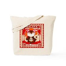 Cat Stamp Tote Bag