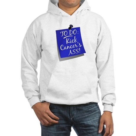 To Do 1 Colon Cancer Hooded Sweatshirt