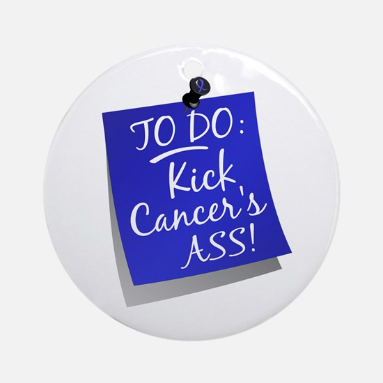 To Do 1 Colon Cancer Ornament (Round)