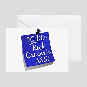 To Do 1 Colon Cancer Greeting Card