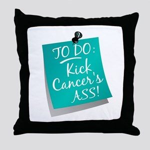 To Do 1 Cervical Cancer Throw Pillow