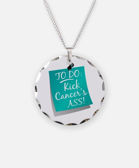 To Do 1 Cervical Cancer Necklace Circle Charm