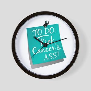 To Do 1 Cervical Cancer Wall Clock