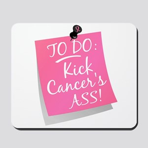 To Do 1 Breast Cancer Mousepad