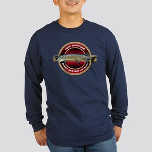 Long Sleeve Dark Pike Hunter T-Shirt