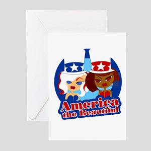 America Beautiful II Greeting Cards (Pk of 10)