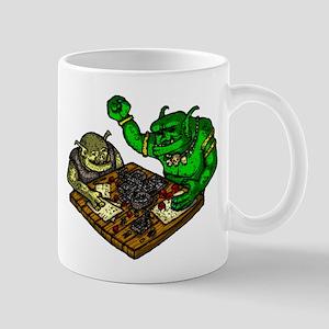 Trolls playing a Fantasy RPG Mugs