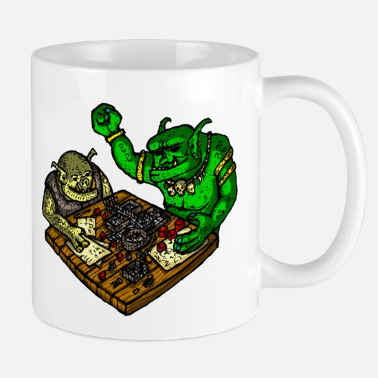 Trolls playing a Fantasy RPG Mugs