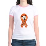 Pit Bull Awareness (Gus) Jr. Ringer T-Shirt