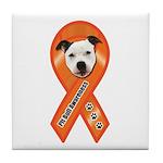 Pit Bull Awareness (Gus) Tile Coaster