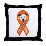 Pit Bull Awareness (Gus) Throw Pillow