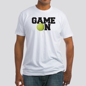 Game On Tennis Fitted T-Shirt