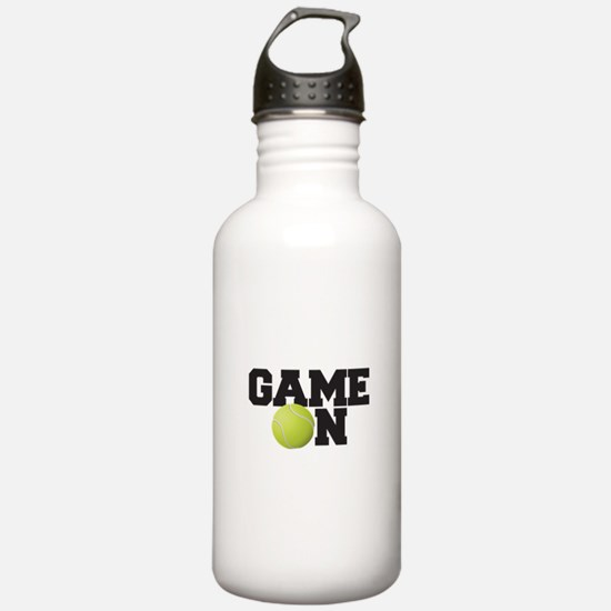 Game On Tennis Sports Water Bottle