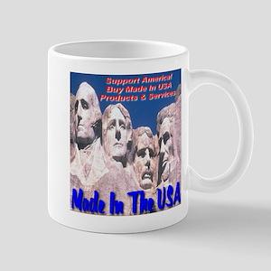 Made In The USA Mt. Rushmore Mug