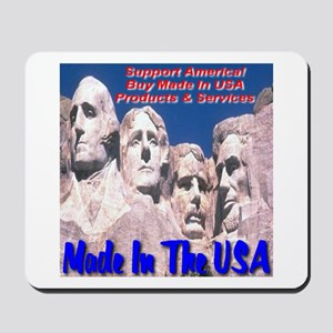 Made In The USA Mt. Rushmore Mousepad