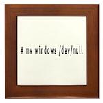 # mv windows /dev/null - Framed Tile