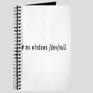 # mv windows /dev/null - Journal