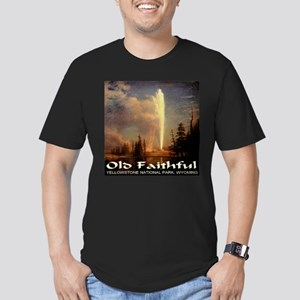 Old Faithful Men's Fitted T-Shirt (dark)