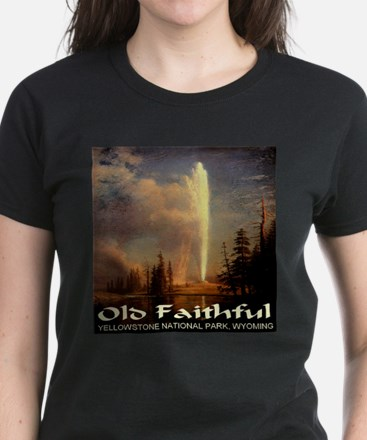 Old Faithful Women's Dark T-Shirt