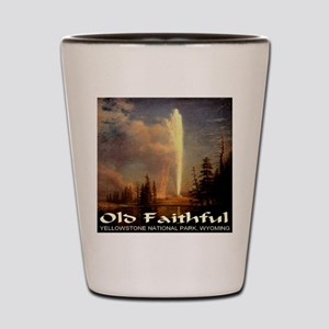 Old Faithful Shot Glass