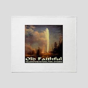 Old Faithful Throw Blanket