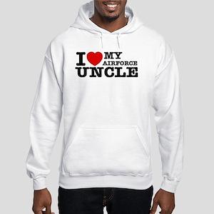I love My Airforce Uncle Hooded Sweatshirt