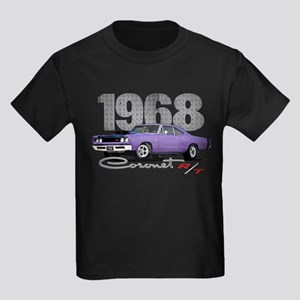 1968 Coronet R/T Kids Dark T-Shirt