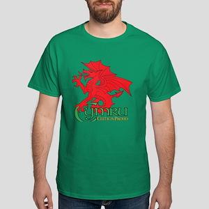 Cymru Draig Dark T-Shirt