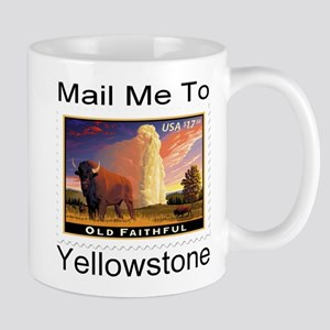 Mail Me To Yellowstone Mug