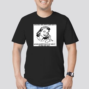 wildland fire dispatchers Men's Fitted T-Shirt (da